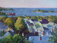 Gloucester Harbor, 12 x 16