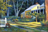 Berkshires Yellow House, 20 x 30